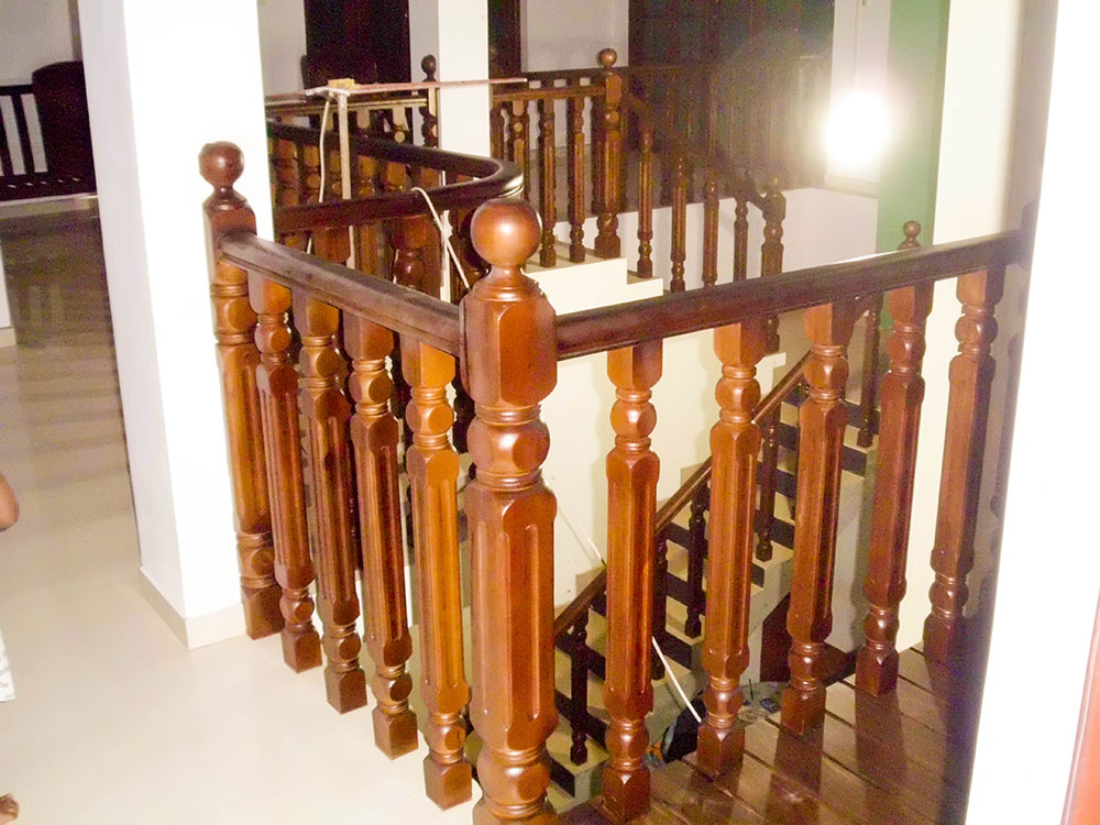 Dedunu Wood Works Wood Railing Designs Staircase Railings